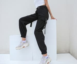 asian, sneakers, and outfit inspiration image