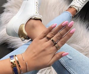 accessories, claws, and girly image