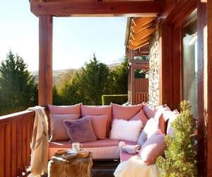 design, balcony, and interior image