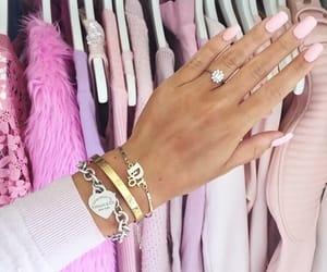 fashion, pink, and nails image