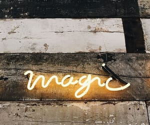 black, letters, and lights image