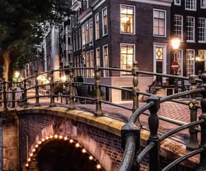 amsterdam, canal, and photographie image