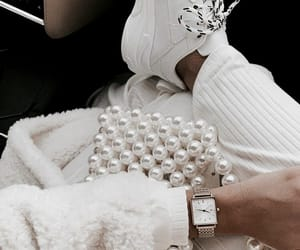 fashion, luxury, and pearls image