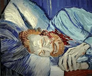 gif, sadness, and loving vincent image