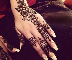henna, mehndi, and hand image