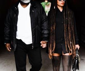 beards, matching, and black image