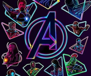 Avengers, black panther, and vision image