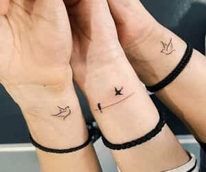 tattoo, art, and bird image