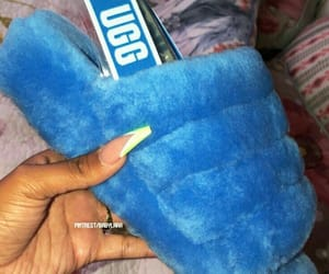 blue, fashion, and uggs image