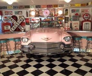 milkshake, pink, and rock and roll image