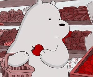 grizzly, ice bear, and tv show image