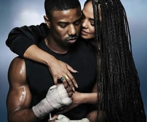 creed, adonis, and boxing image