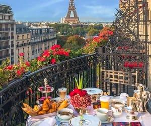 paris, food, and theme image