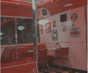 vintage, red, and aesthetic image