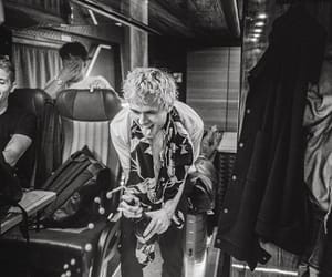 black and white, champagne, and tour image