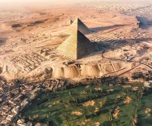 egypt, giza, and giza pyramids image