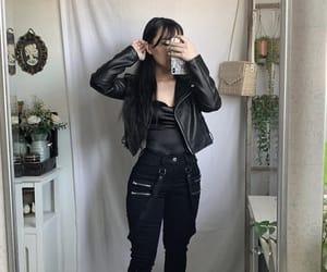 aesthetic, black, and minimalist image