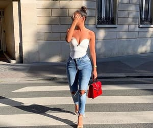 street, sun, and outfitinspiration image