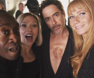 Marvel, Scarlett Johansson, and Don Cheadle image