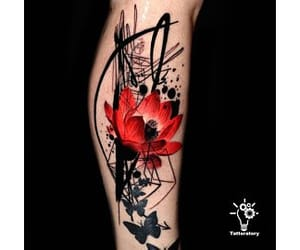 fashion, tattoo, and leg sleeve image