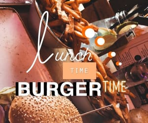 burger, food, and lunch image
