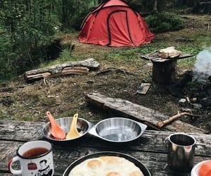 adventure, camp, and mountain image
