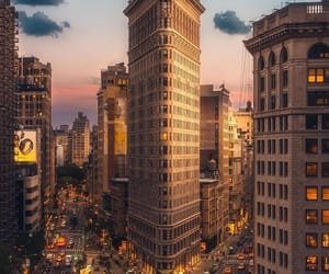 city, new york, and places image
