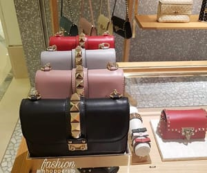 bags, pink, and Valentino image