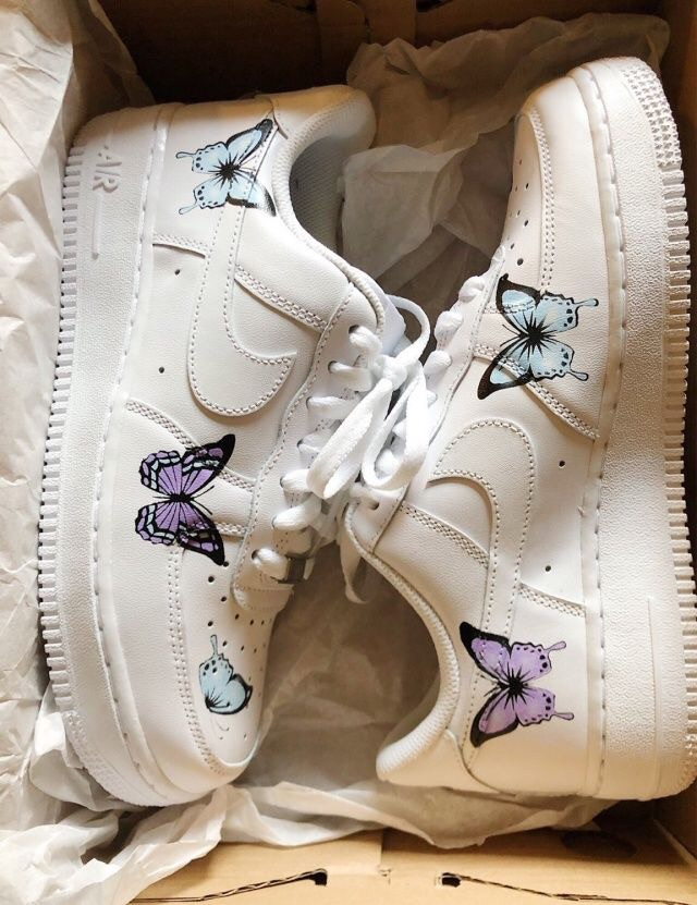 nike air force butterfly