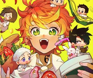 ray, anime boys, and the promised neverland image