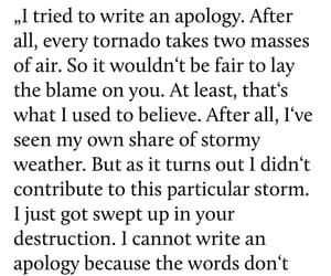 apology, broken, and hurt image