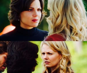 Jennifer Morrison, swanqueen, and once upon a time image
