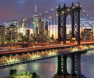 bridge, new york, and places image