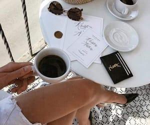 coffee, fashion, and drink image