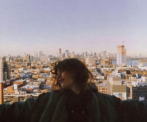 aesthetic, girl, and city image