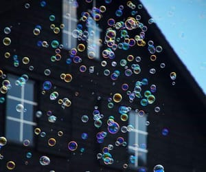 bubbles, freedom, and colorful image