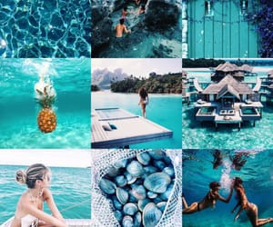 beach, sea, and turquoise image