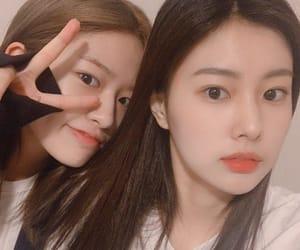 kpop, hyewon, and yujin image