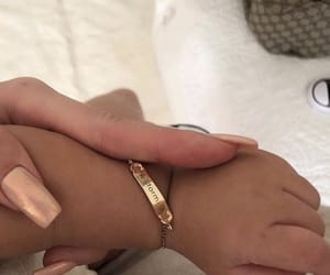 baby, nails, and kylie jenner image