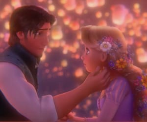 aesthetic, disney, and tangled image