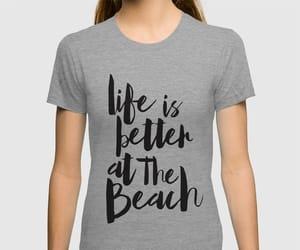 beach, shirt, and xoxo image