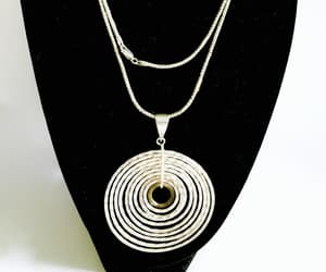 etsy, necklace, and modernist pendant image
