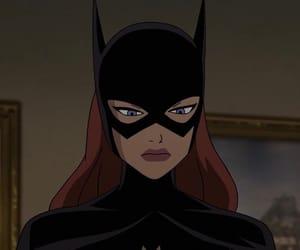 cartoon and batgirl image
