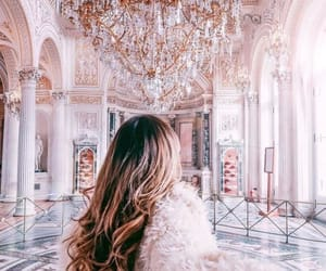 luxury, pink, and hair image