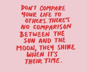 compare, pink, and quote image