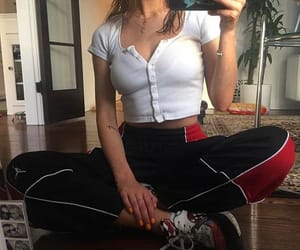 sporty chic image