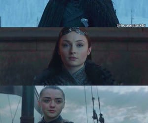 got, winter is coming, and arya stark image