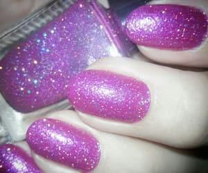 dark pink, nails, and pink image