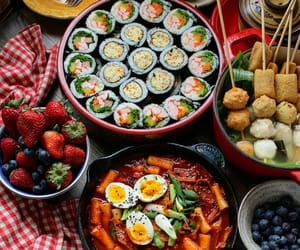 aesthetic, colorful, and food image