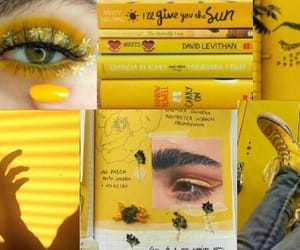 header, yellow, and yellow header image